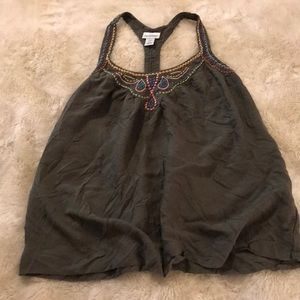 Dark Green Maternity Tank